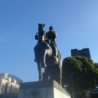 Photo taken at Praça XV de Novembro by Eric d. on 4/17/2013