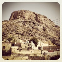 Photo taken at Al Nur Mountain - Hira Cave by Zoheb on 6/1/2013