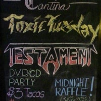 Photo taken at Toxic Tuesday @ Velvet Margarita Cantina by Tracey W. on 10/2/2013