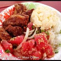 Photo taken at Lana'i Ohana Poke Market by Ann on 9/8/2014