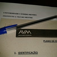 11/28/2012에 Marcinha P.님이 AVM - Universidade Cândido Mendes에서 찍은 사진