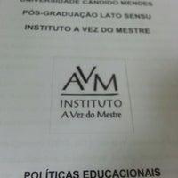 7/31/2013에 Marcinha P.님이 AVM - Universidade Cândido Mendes에서 찍은 사진