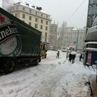 Photo taken at rue de berne by Tim on 2/12/2013
