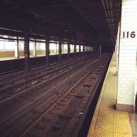 Photo taken at MTA Subway - 116th St/Columbia University (1) by David on 9/21/2013