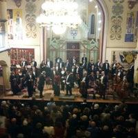 Photo taken at Sinagoga by Emilian G. on 1/3/2016