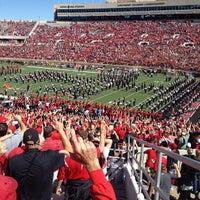 Photo taken at Jones AT&T Stadium by Sarah R. on 10/13/2012