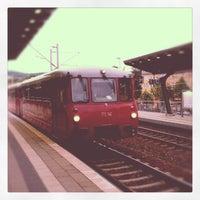 Das Foto wurde bei Bahnhof Jena Paradies von Thoms B. am 9/15/2012 aufgenommen