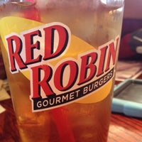 Photo taken at Red Robin Gourmet Burgers by Alison on 11/25/2012