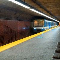 Photo taken at STM Station Charlevoix by Fabien D. on 8/3/2013