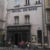 Photo taken at Hôtel du Nord by Fabien D. on 6/18/2013
