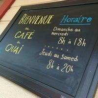 Photo taken at Café du Quai by Fabien D. on 7/13/2015