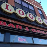 Photo taken at Logan Bar & Grill by Mary B. on 12/27/2013
