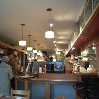 Photo taken at Small World Coffee by Javier V. on 2/2/2013