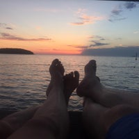Photo taken at Funtana marina by Ko A. on 8/15/2016