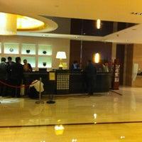 Photo taken at Shanghai Int'l Equatorial Hotel | 上海国际贵都大饭店 by Gezen T. on 10/24/2012