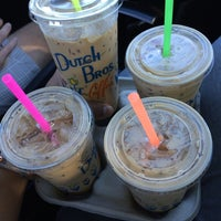 Photo taken at Dutch Bros. Coffee by Pedro A. on 10/5/2014