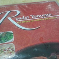 Photo taken at Rosdet Tomyam by Ada S. on 3/24/2013
