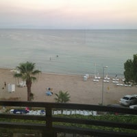Photo taken at Orion Beach Hotel by Ilker on 7/30/2013