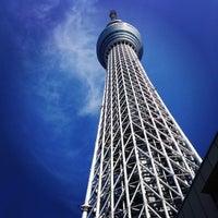 Photo taken at Tokyo Skytree by hitton on 5/31/2013