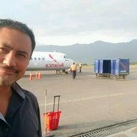 Photo taken at Aeropuerto Perales (IBE) by Manuel C. on 11/24/2016