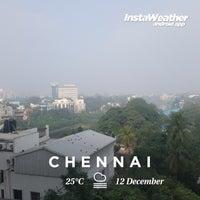 Photo taken at Chennai by Faiz M. on 12/12/2017