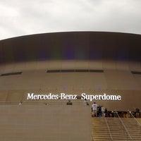 Photo taken at Mercedes-Benz Superdome by Simon C. on 6/7/2013