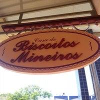 Photo taken at Casa de Biscoitos Mineiros by Kleber B. on 10/1/2012