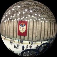 Photo taken at Дворец спорта СКА by LaNka N. on 1/18/2013