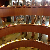 Photo taken at Biblioteca Central de la UNED by cristinfunchi on 5/18/2013