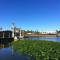 Photo taken at Lake Mirror by Duanne G. on 2/17/2013