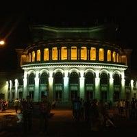 Снимок сделан в Армянский театр оперы и балета им. Спендиарова пользователем Albert 7/19/2013