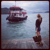 Photo taken at Mui Wo Ferry Pier 梅窩渡輪碼頭 by Svetlana V. on 5/2/2013