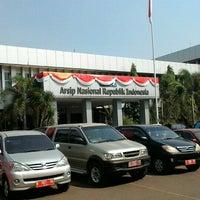 Photo taken at Arsip Nasional Republik Indonesia (ANRI) by Lufi H. on 9/1/2015