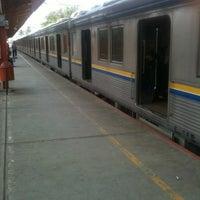 Photo taken at Stasiun Tanjung Barat by olarizqi on 10/10/2012