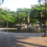 Photo taken at Praça General Osório by Fernanda S. on 12/27/2012