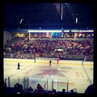 Photo taken at Rushmore Plaza Civic Center Ice Arena by Dustin V. on 10/14/2012