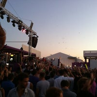 Photo taken at Paradiso Beach Club by Stavroula K. on 8/10/2013