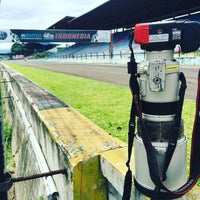 Photo taken at Sentul International Circuit by Peter L. on 11/14/2016