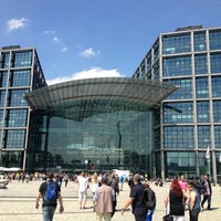 Photo taken at Berlin Central Station by Konstantin S. on 5/19/2013