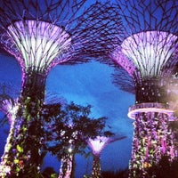 Foto tomada en Gardens by the Bay  por Jeremiah O. el 10/13/2013