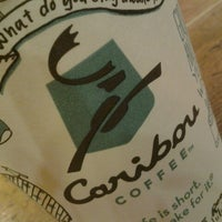 Photo taken at Caribou Coffee by Diana C. on 10/21/2012