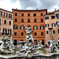 Photo taken at Piazza Navona by Emerson G. on 5/2/2013