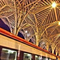 Photo taken at Estação Ferroviária da Gare do Oriente by Emerson G. on 1/26/2013