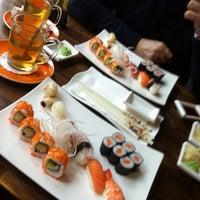 Das Foto wurde bei Mikoto Sushi von Sébastien am 12/17/2012 aufgenommen