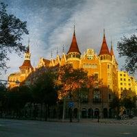 Foto tomada en Casa Terrades (Casa de les Punxes) por Sergi M. el 11/2/2012