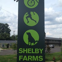 Photo taken at Shelby Farms Greenline @ Tillman St (West Terminus) by Adrion S. on 7/21/2013
