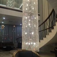 Photo taken at Novosibirsk Marriott Hotel by Yana T. on 10/25/2014