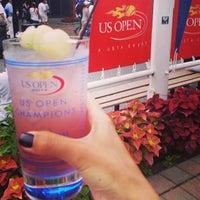 Photo taken at Grey Goose Bar - US Open by Alya S. on 9/6/2014