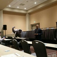 Photo taken at ExL Digital Pharma East by Alya S. on 10/1/2015