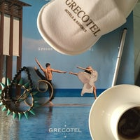 Photo taken at Grecotel Pallas Athena by Alya S. on 7/18/2017